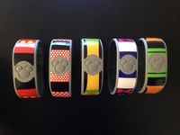 covers for Fitbit Flex and Magic Bands - customize with removable and waterproof vinyl decals! | DVC Central
