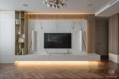 Living Room Tv Unit Designs, Home Design Living Room, Elegant Living Room, Apartment Interior, Apartment Design, Tv Lounge Design, Modern Tv Wall Units, Interior Design Kitchen, Luxury Interior
