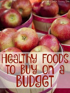 Are you trying to eat healthy while sticking to a budget? If so, check out this list of healthy and inexpensive foods that you should be buying on a budget.