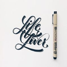Life Liver. I'm thinking of a series of pieces that might end up collectible in some way.  Watch out for more.  #makedaily #calligraffiti #calligritype #typographyinspired #brushscript #inking #ink #lettering #handlettering #customlettering #handstyles #thedailytype #showusyourtype #graphicdesign #goodtype  #typedaily #typespire #art #handmadefont #typeverything #actypist #lettering_co #micron