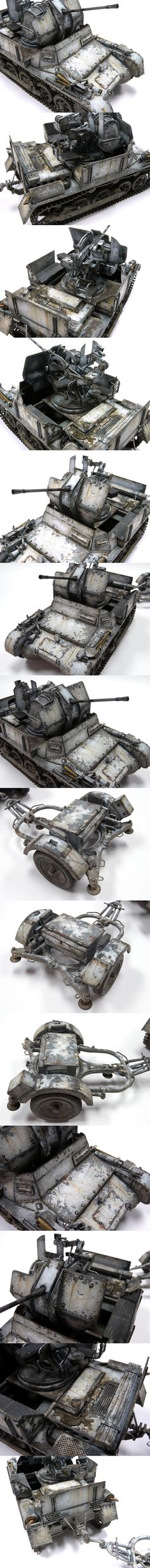Flakpanzer Model.