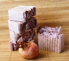 Pommegranate soap by KorneliasSoap on Etsy, $4.50