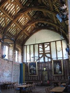 The Great Hall - the only as-original Tudor edifice
