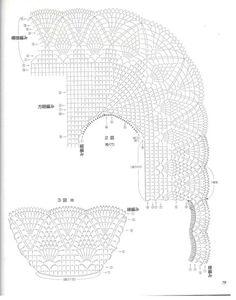 Material escaneado de revistas del mundo de la moda y las grandes pasarelas  El mismo consta de ; Blusas,Boleros,Chalecos,Top,Suéters,Sacos,...