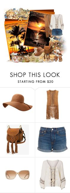 """""""Boho look"""" by asia-12 ❤ liked on Polyvore featuring C.R.A.F.T., Monsoon, Chloé, Levi's, Cool Change and Breckelle's"""