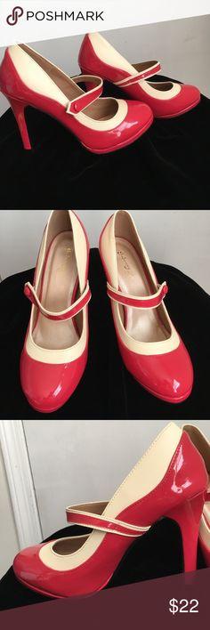 Spotted while shopping on Poshmark: Graham Street Shoe Co. Faux- Leather Mary Janes- 9! #poshmark #fashion #shopping #style #Modcloth #Shoes
