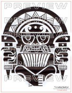 Inca & Aztec Tattoo Designs Gallery - aztec tattoos #incatattoos #aztectattoos #incatattoodesigns #incatattooideas