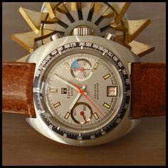 1970's Tissot Swiss 'Seastar Navigator' Sport Chronograph Valjoux Cal. 7734 | eBay