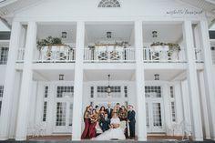 A Michigan Winter Wedding by Mishelle Lamarand Photography / Red Winter Wedding / Michigan Wedding Photography / Waldenwoods Resort Wedding