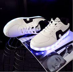 e7d16e20387cd1 UNI LED Schuhe Ausgestattet mit Speicherbatterie
