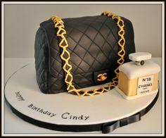 Chanel's bag - by pâtisserire @ CakesDecor.com - cake decorating website