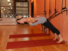 3 things a yoga rope wall can do for your practice