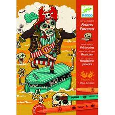 Djeco Zestaw Artystyczny Piraci
