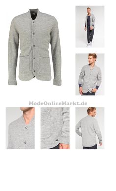#Bench #Strickjacke #mid #grey #marl #für #Herren #7746740