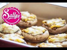 gefüllte Champignons aus dem Ofen / vegetarisch & einfach - YouTube
