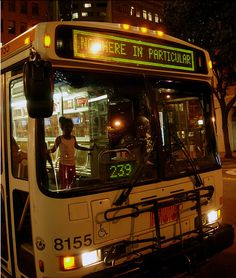 MUNI going nowhere in particular   by tellumo