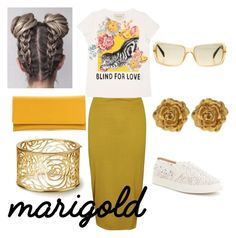 """""""mygolden"""" by stylebybrie on Polyvore featuring Boohoo, Gucci, Antonio Melani, Chanel and Liberty"""