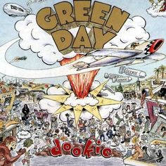 GREEN-DAY-Dookie-Album-Cover-Art-Print-Poster-24X24-Inch