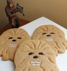 Brown sugar Wookiee cookies. #StarWars @Carie Austin {Carie's Craft Corner} I could see you making these!