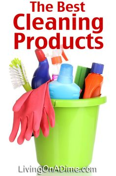 The Best Cleaning Products - Clearing Up The Confusion
