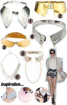 #collars #jewelry #trend