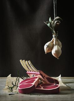 Still Lifes From a Master of Paper.  Fideli Sundqvist, a Swedish artist specializing in paper craft.