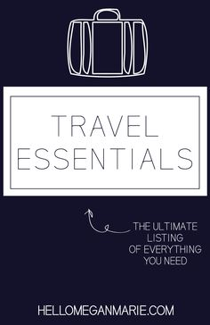 #travel #essentials #photography