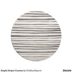 Simple Stripes Coasters