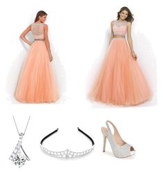 """""""So ready for prom"""" by anagrace-kotulak ❤ liked on Polyvore featuring Lauren Lorraine and Kim Rogers"""