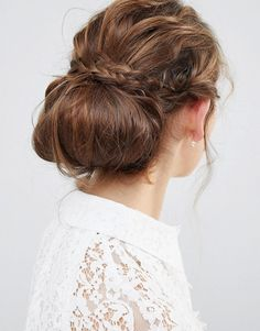Buy ASOS DESIGN Chignon bun hair tool at ASOS. Get the latest trends with ASOS now. Chignon Bun, Low Updo, Messy Bun Hairstyles, Girl Hairstyles, Hairstyles Videos, Pretty Hairstyles, French Twist Updo, Perfect Bun, Asos