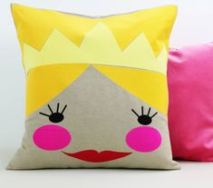 We bet your little #girl would love this #Princess #Cushion