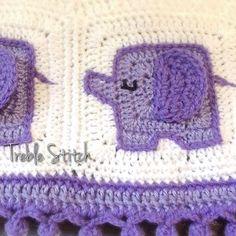 treble_stitch crochet elephant pattern