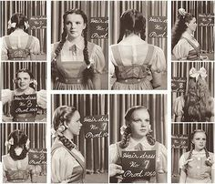 PHOTOS: 'The Wizard of Oz' Turns 75 - Judy Garland, Wizard of Oz — April 1938 initial hair and makeup tests done by Max Factor - Classic Hollywood, Old Hollywood, Wizard Of Oz 1939, Broadway, Land Of Oz, Yellow Brick Road, Judy Garland, Cinema, Over The Rainbow