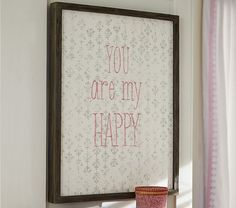 You are My Happy Art | Pottery Barn Kids