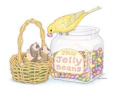 """Mudpie, Amanda and Muzzy from House-Mouse Designs® featured on the The Daily Squeek® for April 13th, 2013. Click on the image to see it on a bunch of really """"Mice"""" products."""