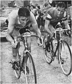 Jacques Anquetil & Wim van Est - Tour de France 1957