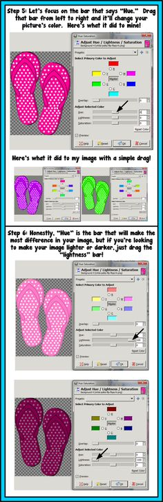 How to Easily Change the Color of an Image (Using Gimpshop) - A Turn to Learn