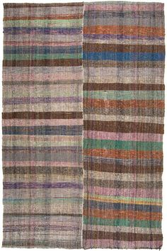 Beautiful colours in a rug