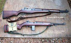 Crew-Service-Weapons M1 Garand M1 Carbine