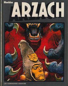 Couverture de Arzach