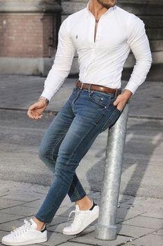 Trendy Mens Fashion, Stylish Mens Outfits, Casual Outfits, Men Casual, Blazer Fashion, Men's Fashion, Fashion Menswear, Mode Masculine, Man Dressing Style