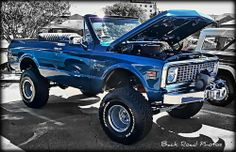 Chevy Blazer by Back Road Wanderer. Fave type of truck in my fave color! 67 72 Chevy Truck, Lifted Chevy, Chevy Pickups, Chevy Trucks, Chevy C10, Gm Trucks, Lifted Trucks, Cool Trucks, Pickup Trucks
