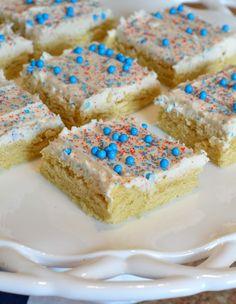 Patriotic Sugar Cookie Bar
