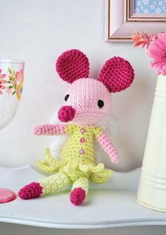Free Pattern – Fairy Mouse