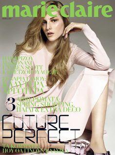 Ros Georgiou - Marie Claire Magazine Cover [Greece] (May 2014)