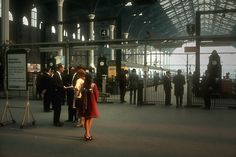 28 Color Photographs Captured Street Scenes of London in the Liverpool Street, London Street, Vintage London, Old London, George Gray, Station To Station, East End London, British Rail, London Transport