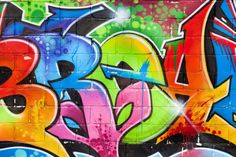 New York Graffiti Wall Mural, custom made to suit your wall size by the UK's No.1 for murals. Custom design service and express delivery available.
