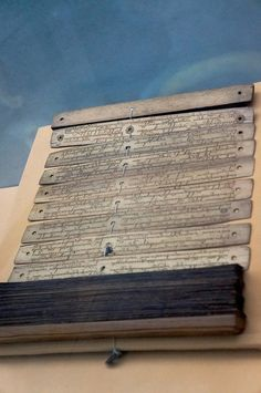 Journal written in Sanskrit collection of the Sri Baduga Museum. Photo by Icha Rahmanti.