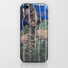 DEAD RAPPERS SERIES - Pimp C iPhone & iPod Skin by Ibbanez - #hiphop #rap #ibbanez #pimpc