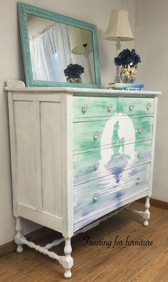 Mermaid Home Decor - Bedroom Dresser